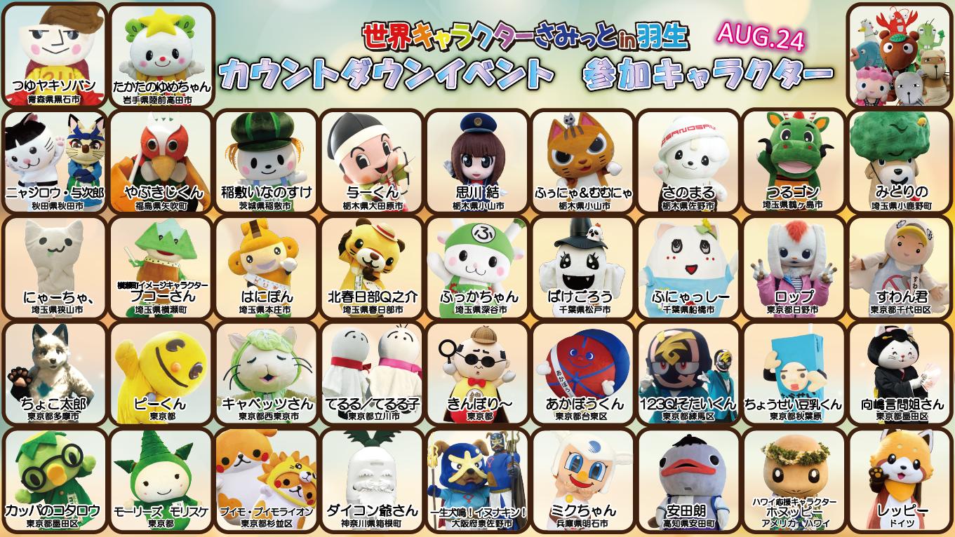 CD参加キャラクター